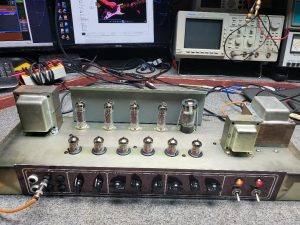 VOX Guitar Tube Amp repair
