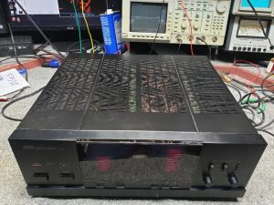 Yamaha amplifier repair